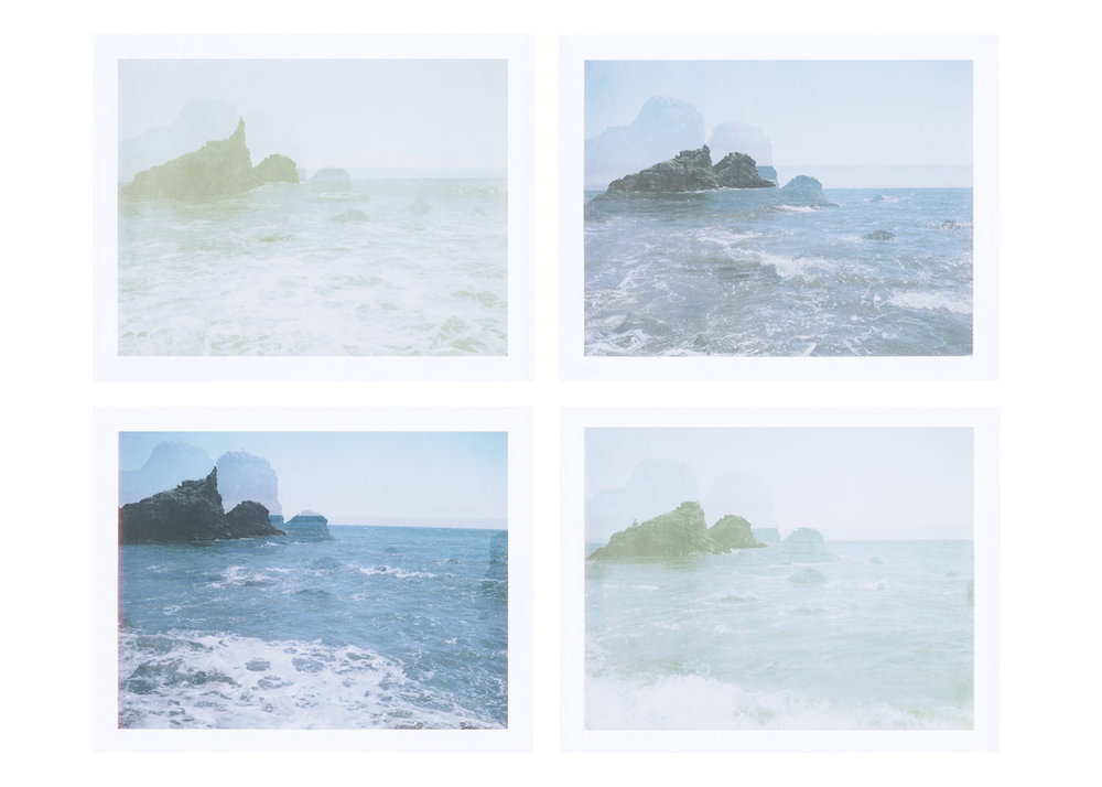 Seasickness (part one) , digital images from FP-100c, 2018.