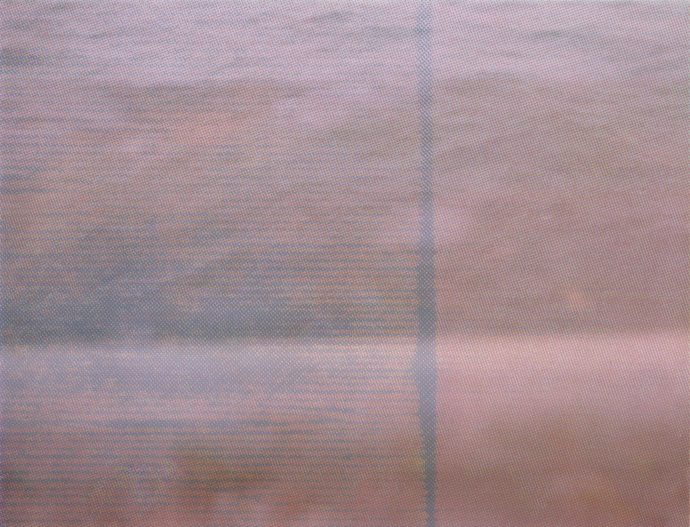 From [this moment of] time , digital image from FP-100c and risograph, 2018.