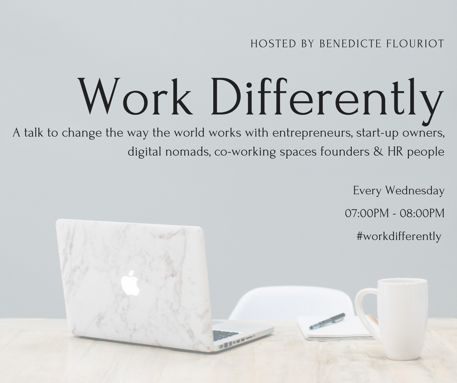 #workdifferently