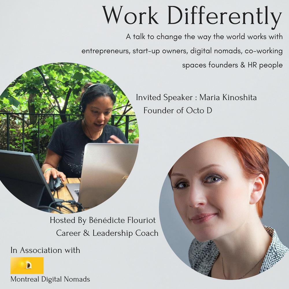 Maria Kinoshita - Founder of Octo D