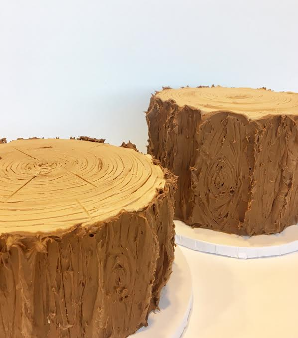 Tree Stump Cakes.jpg