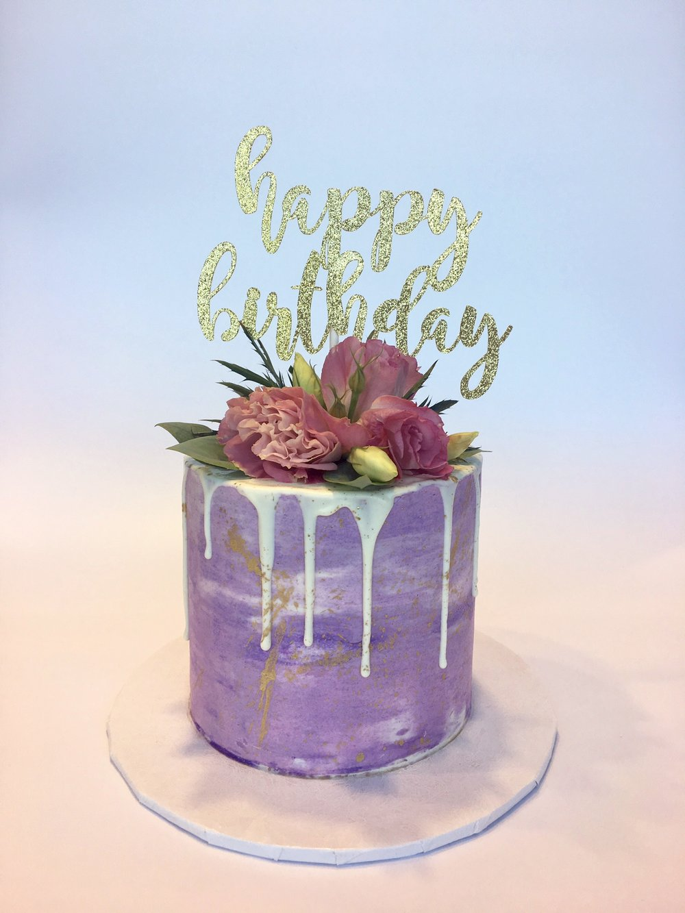 Seair's Purple Birthday Cake.jpg
