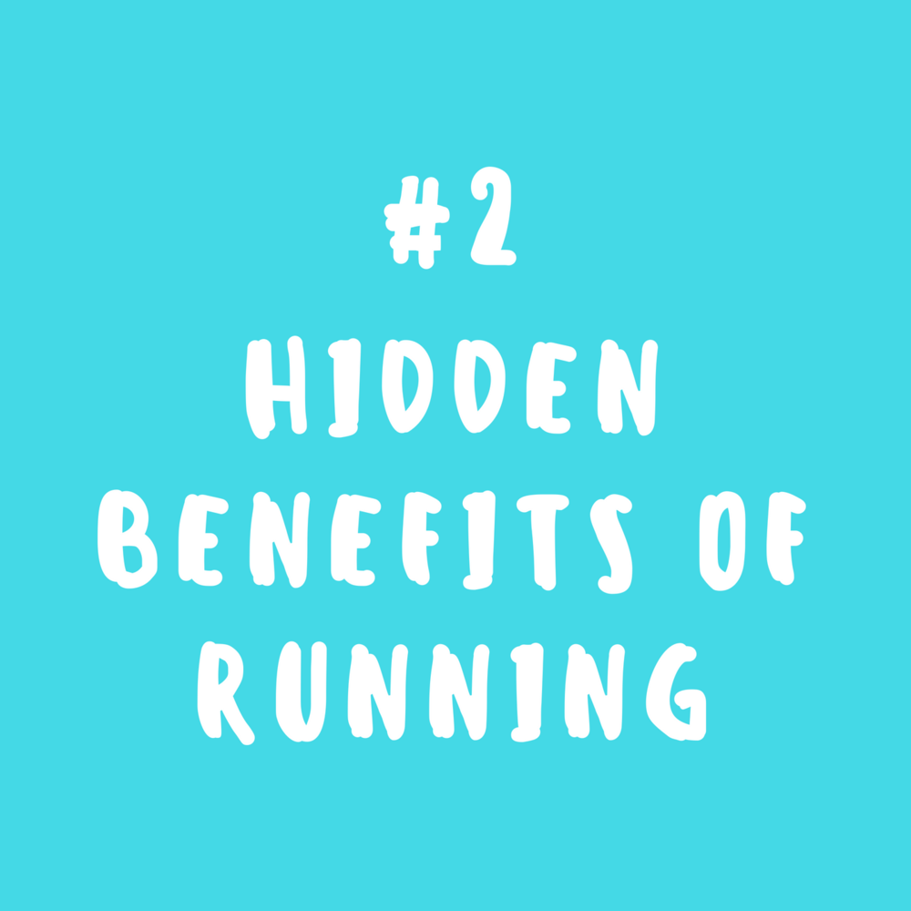 Hidden benefits of running