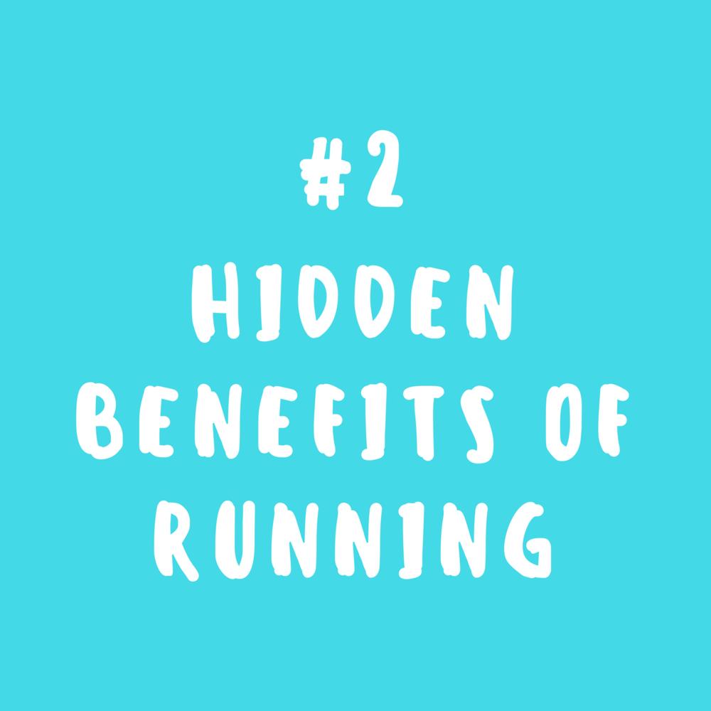 Hidden benefits of running