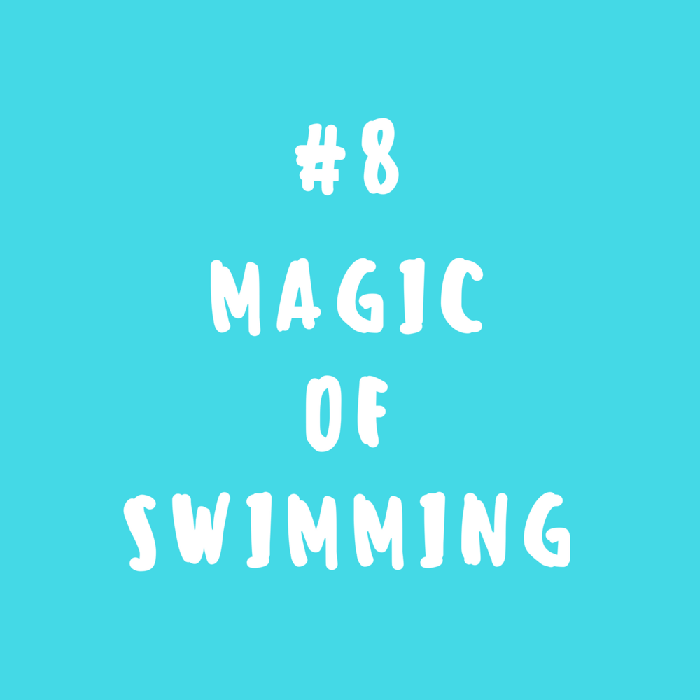 Magic of swimming