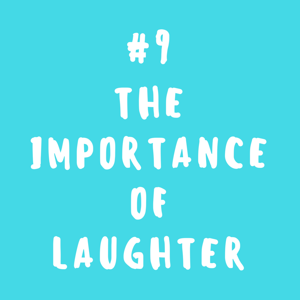 The importance of laughter