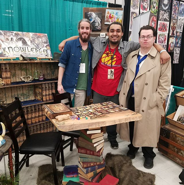 Thanks #albuquerquecomiccon made some new friends and had a blast! Onto the next convention to share some Knowledge with some new folks
