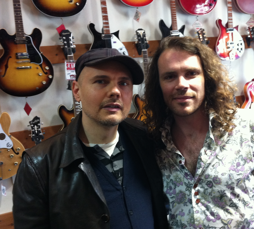 Billy Corgan<br><font size=1>The Smashing Pumpkins  </font>