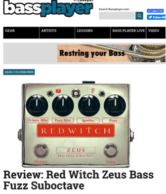 Bass Player Magazine - Zeus