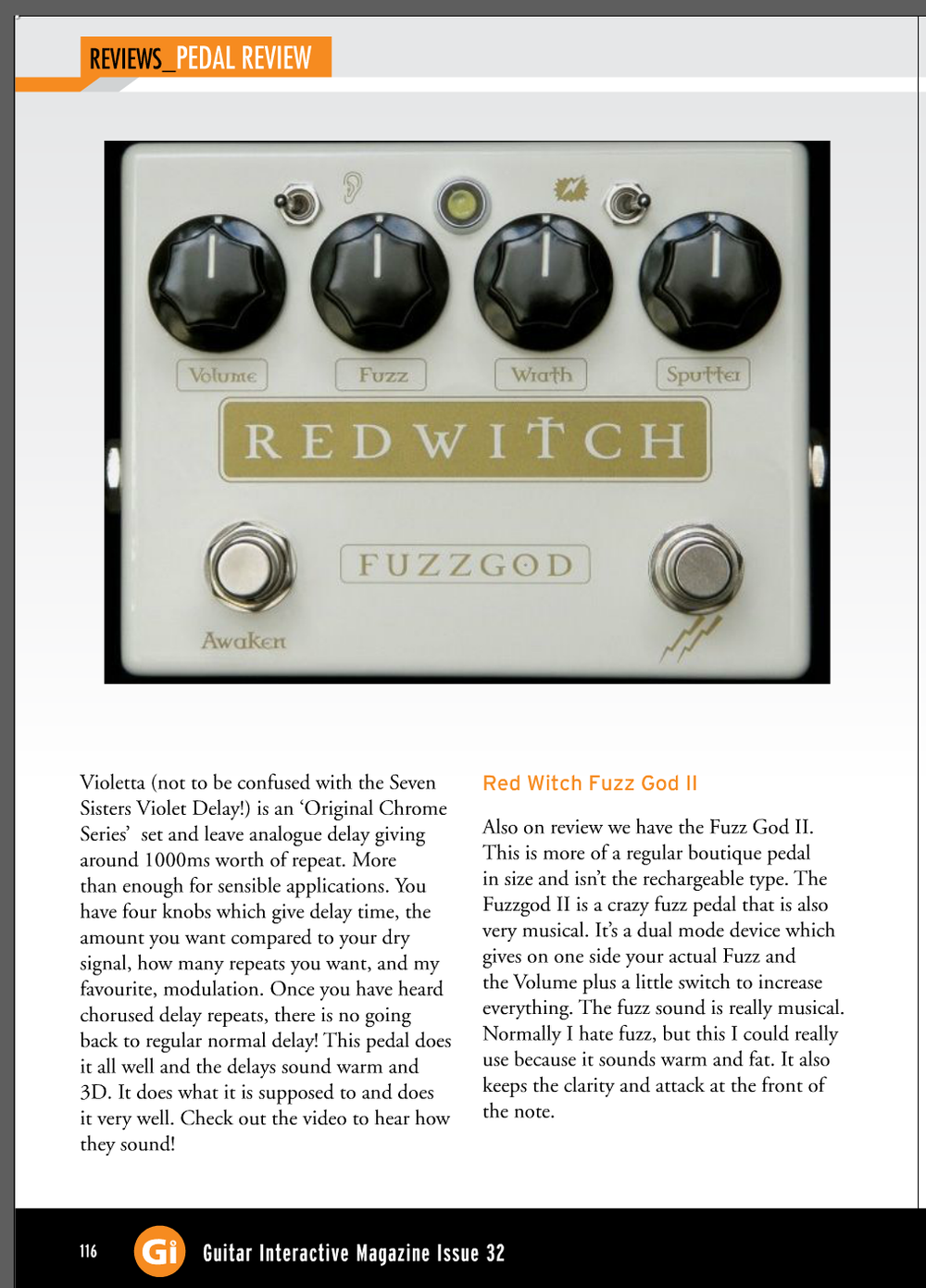Guitar Interactive - Fuzz God II