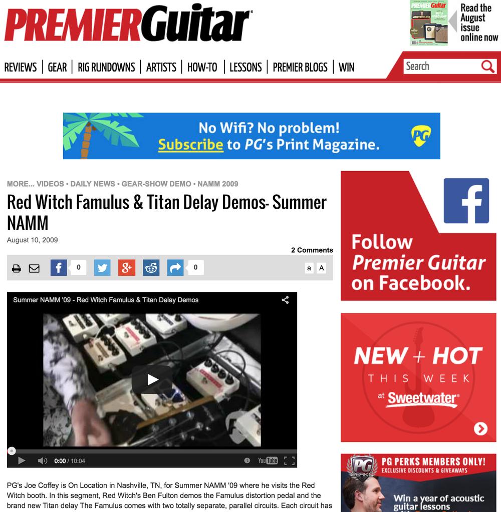 Premier Guitar - Titan