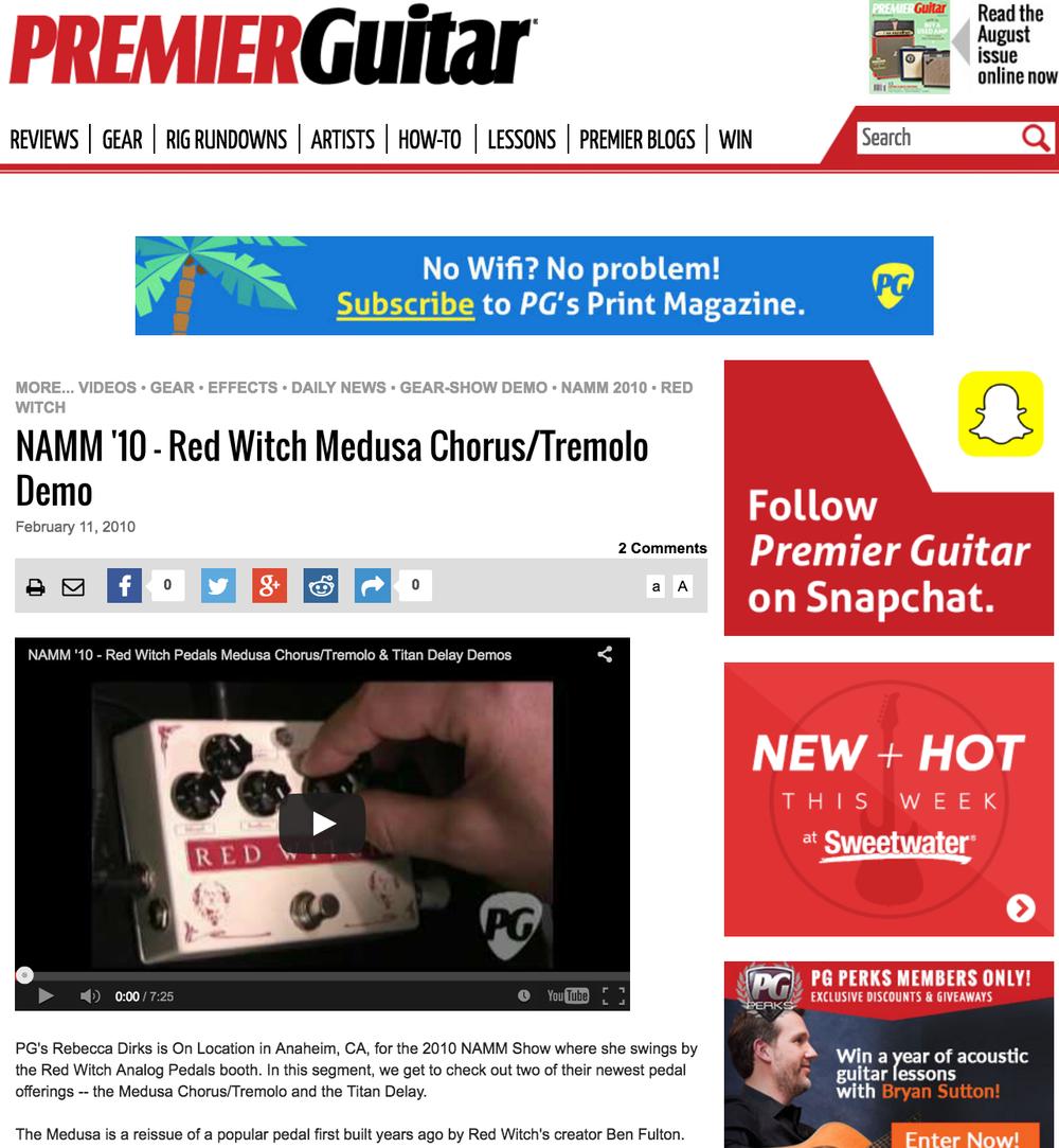 Premier Guitar - Medusa