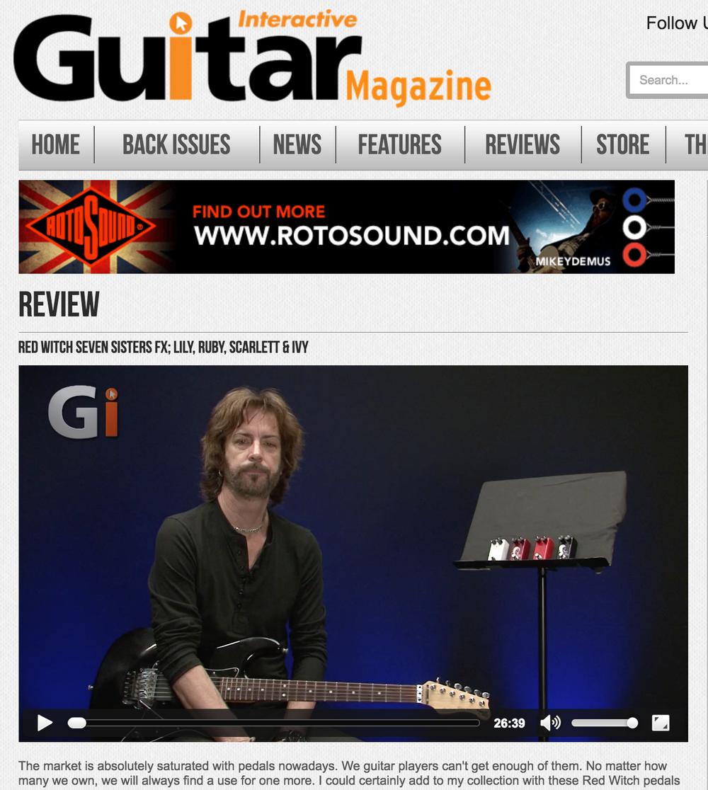Guitar Interactive - Scarlett