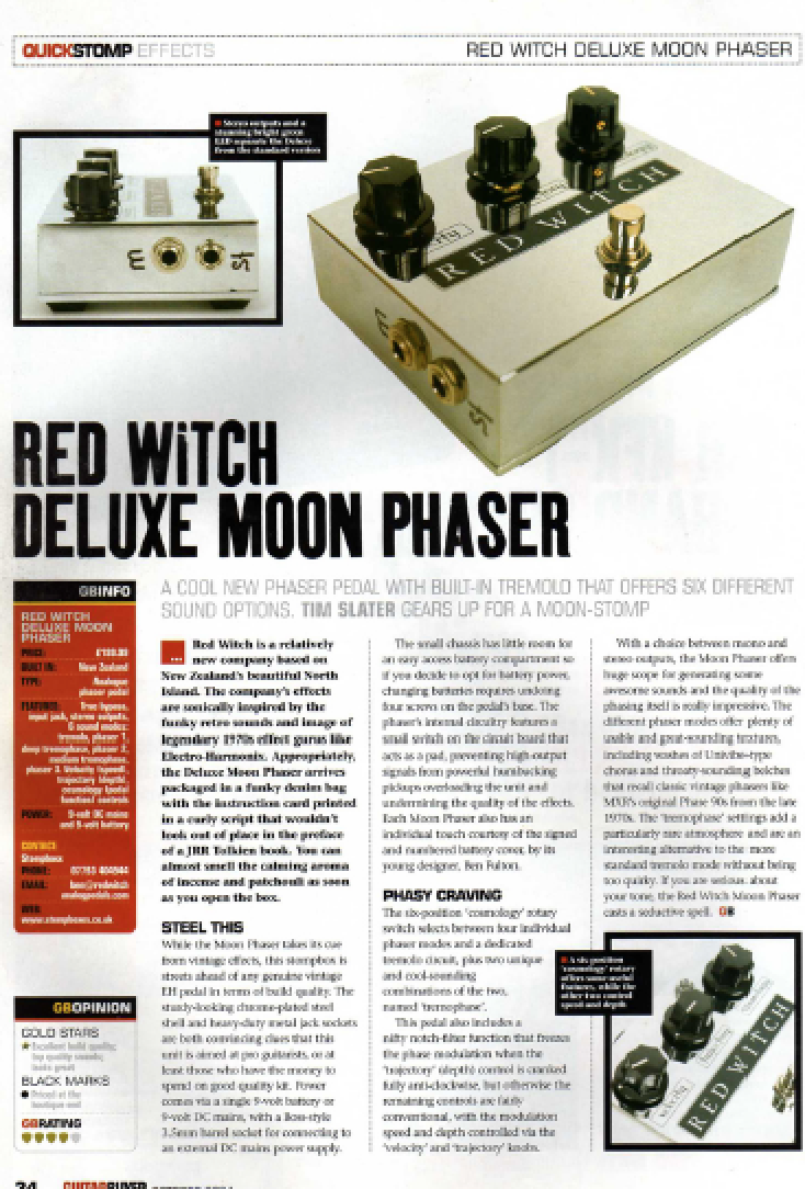 Guitar Buyer - Dlx Moon Phaser