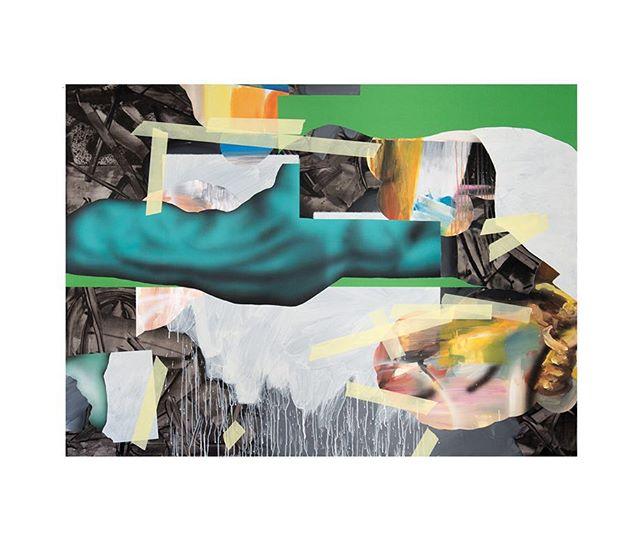 "Another remarkable work by our artist Mateusz Piestrak, ""Rest In Progress"" 2017. 47 x 63 inches. #mateuszpiestrak #mitchplusco #assemblygallery #artgallery #artcollector #contemporaryart #polishartist @assembly_gallery @piestrax"