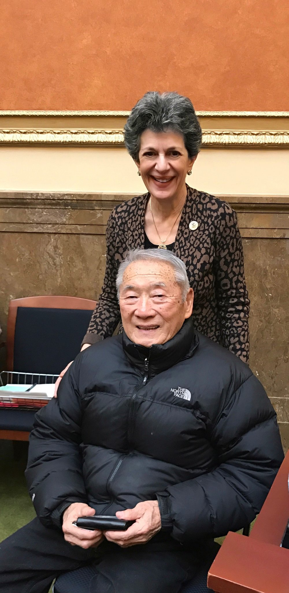 Retired 3rd District Judge Raymond Uno