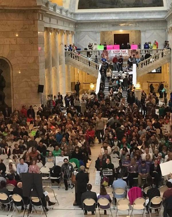 Rally for Addiction and Mental Health Recovery
