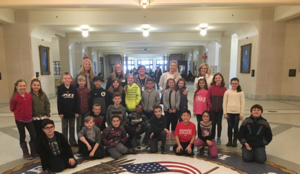 4th Grade Students from Crestview Elementary