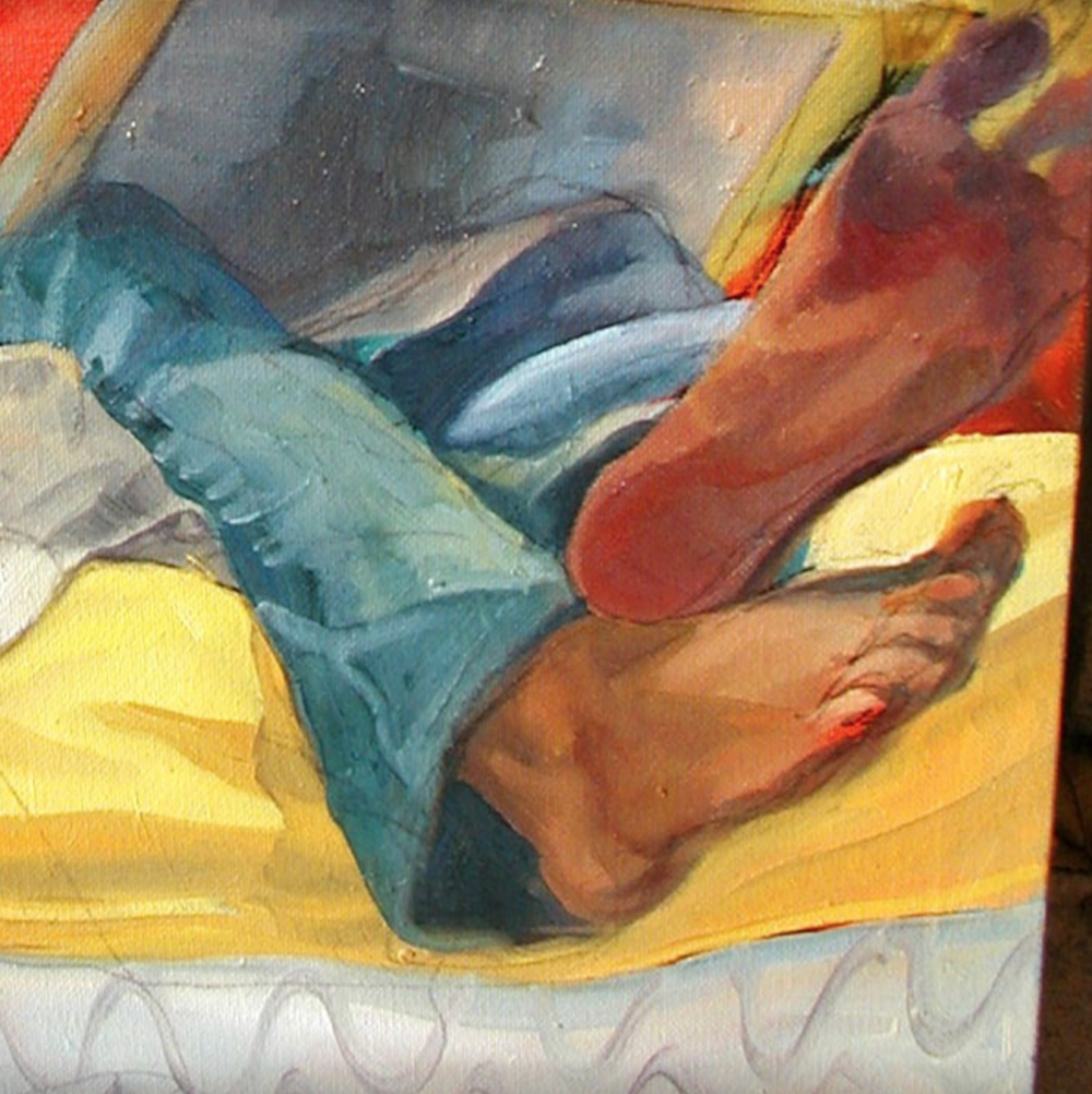 The light on monstrous feet