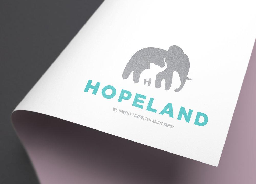 OurHopeland.org Logo Concept