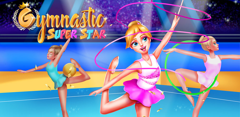 Gymnastics Superstar 2   Brand NEW Game on Cool Tweens!!Now you can enjoy the gymnastic moves inside the game.