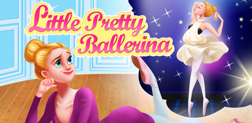 Pretty Ballerina New Fashion Girl Star  Ballet mania as you, do you dream of being the most beautiful ballerina in the world?