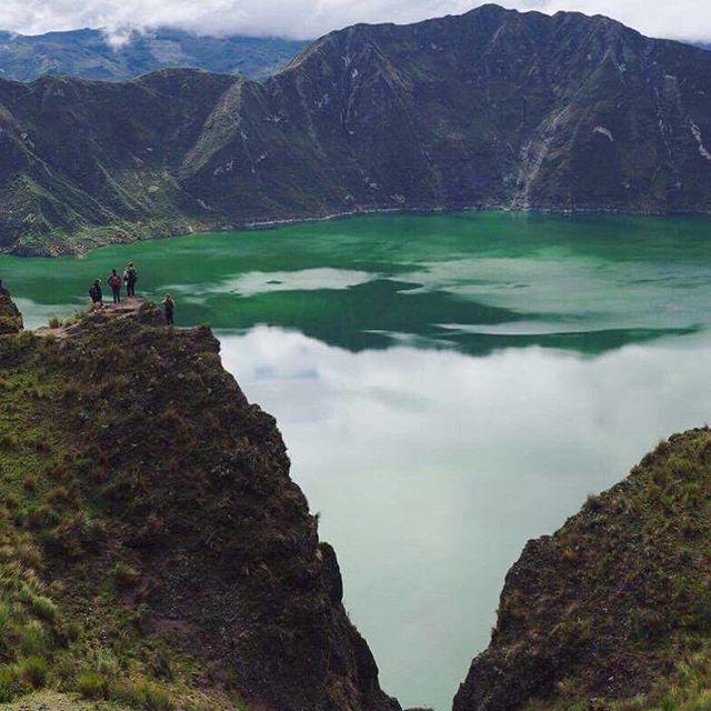 Laguna Quilotoa.  Wow.