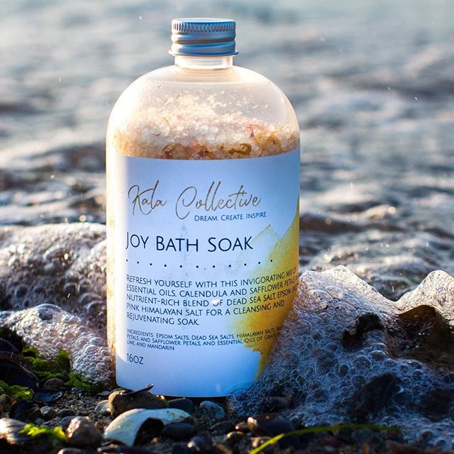 Soak up some joy on the last days of summer - catch us at @eastsideflea this weekend to grab yours!! . . . . #market #bathsalts #bathandbody #natural #organic #aromatherapy #essentialoils #yvr #vancity #vancityevents #eastsideflea #fleamarket #handmade