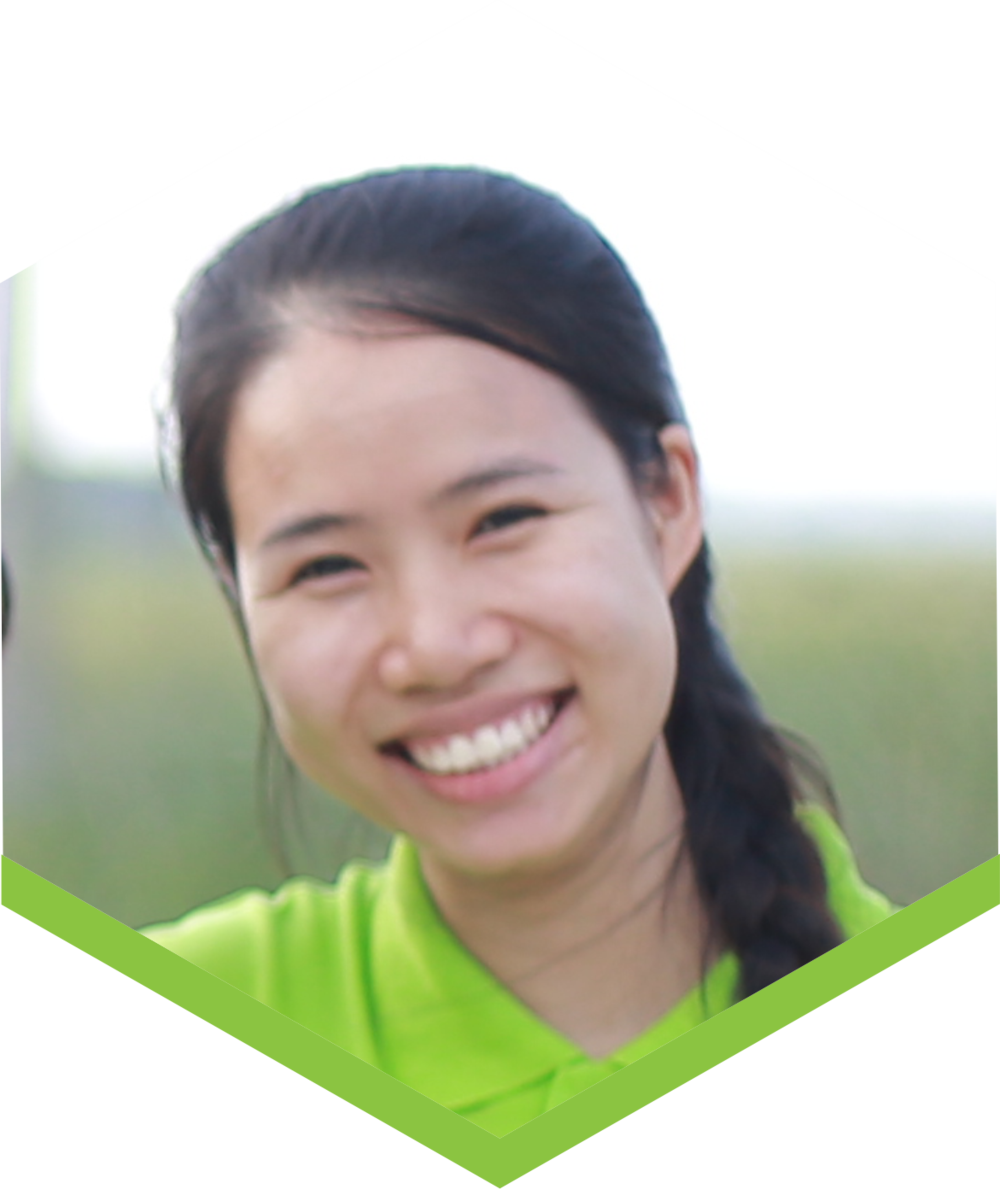 Hoa works in sales and marketing, and her aim is to make Fargreen a sustainable and groundbreaking brand. Hoa is the latest addition to the team, but already an irreplaceable member.