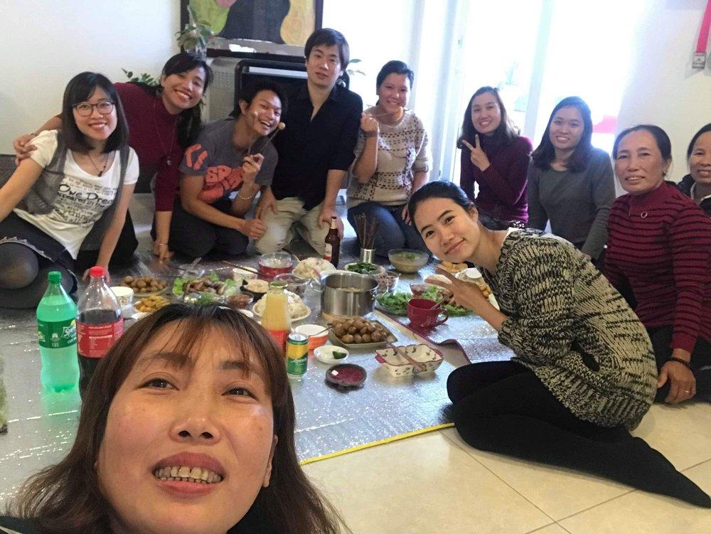 Ryota farewell party