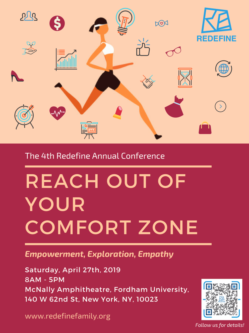 Time: Saturday, April 27th, 2019 8AM - 5PM    Location: McNally Amphitheatre, 140 W 62nd St,    New York, NY 10023