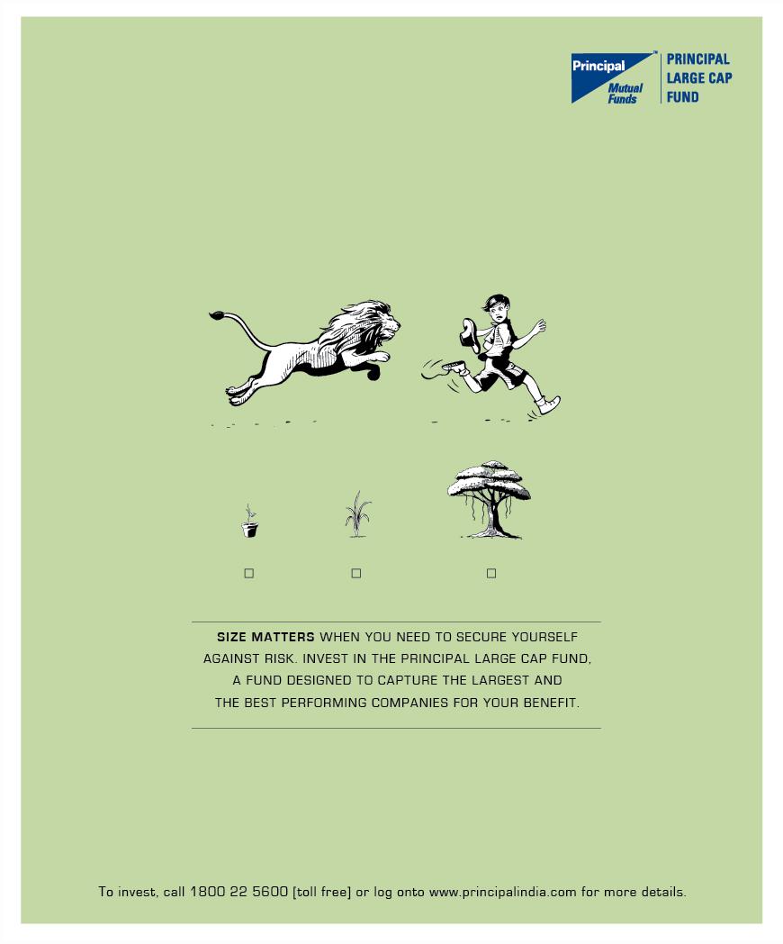Mutual Fund print advertisement - Vinod Sudheer