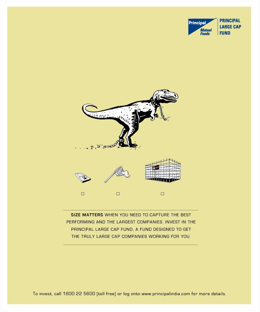 Principal Mutual Fund print advertisement - Vinod Sudheer