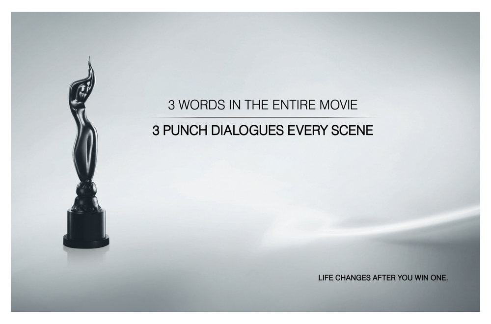 Filmfare South Awards print and outdoor campaign by Vinod Sudheet