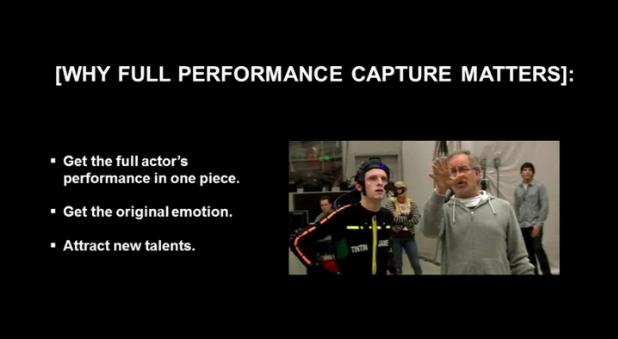 """Ci sono diversi motivi per cui David Cage ritiene importante la """"full performance capture""""."""