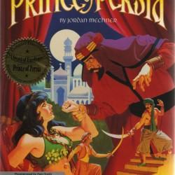La celebre scatola di Prince of Persia. Non è la mia, io avevo la versione per PC.