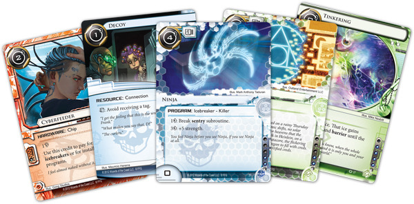 Android: Netrunner - le carte