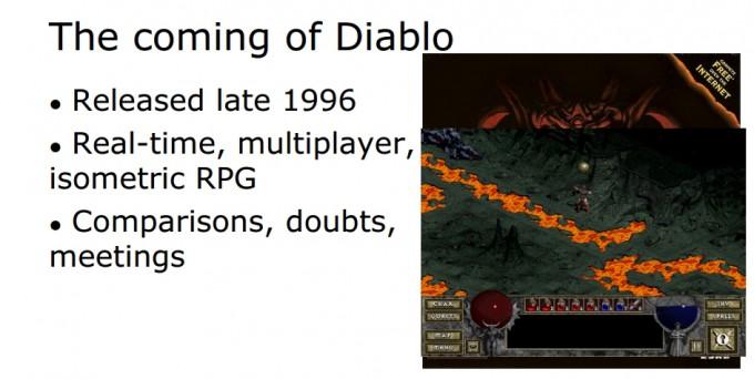 1996: esce Diablo ed è subito dramma.