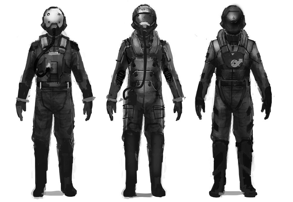 Il pilota di WipEout in tutta la sua coscienza corporale.