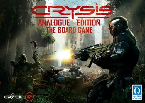 Crysis Analogue Edition The Board Game