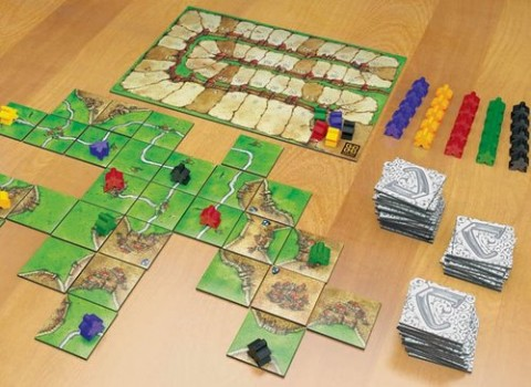 Carcassonne: partita in corso