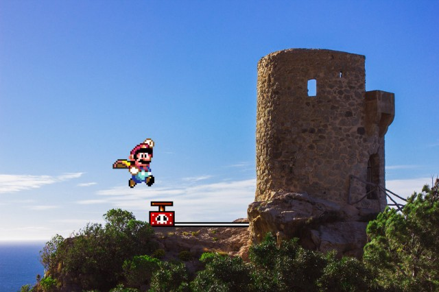 real_bits___super_mario_world__castle_demolition_by_victorsauron-d5xwszo