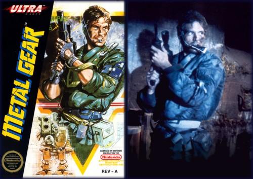 Mitica la copertina per NES, che copiava Kyle Reese di Terminator.