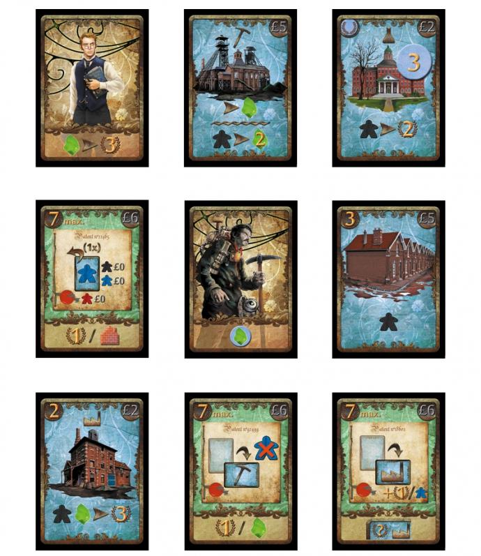 Le varie carte.