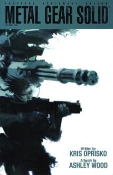 Una delle belle copertine di Ashley Wood.