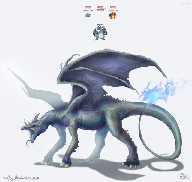pokemon_fusion__rhyizard_by_malfey-d6fe0hv