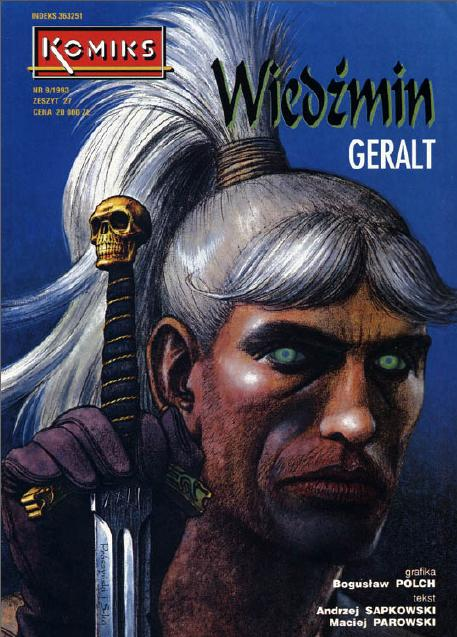 Il primo The Witcher fumettistico in tutto il suo splendore.