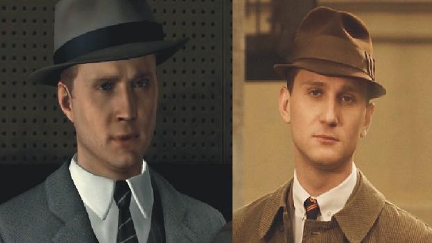 Occhio! L'attore vero è il tizio a sinistra.
