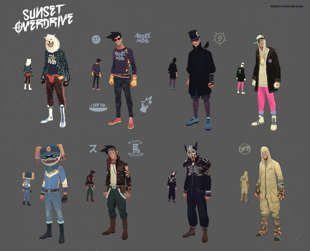 Sunset_Overdrive_Concept_Art_Character_Design_VZ_01