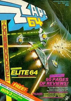 La copertina del primo numero di Zzap!